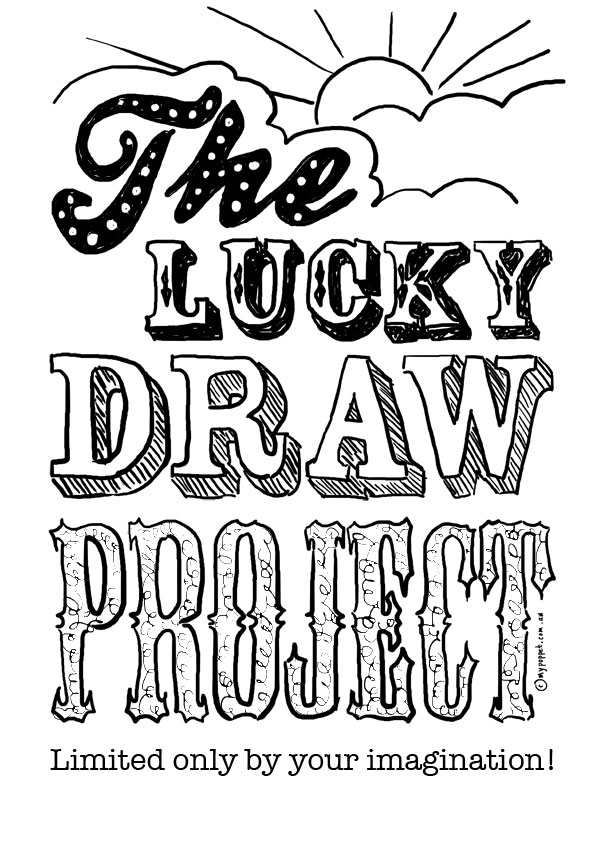 Cover Page Of Drawing Book : The lucky draw project my poppet makes