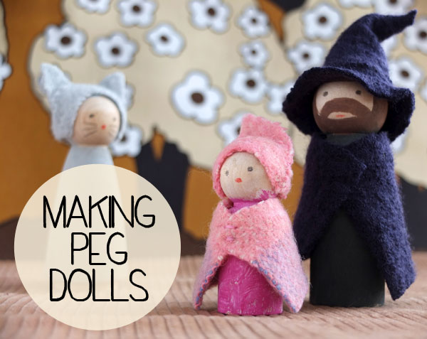 How to make Peg dolls a book review