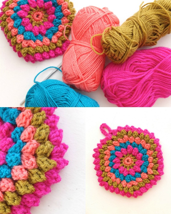 How To Crochet A Popcorn Stitch Video Tutorial My Poppet Makes