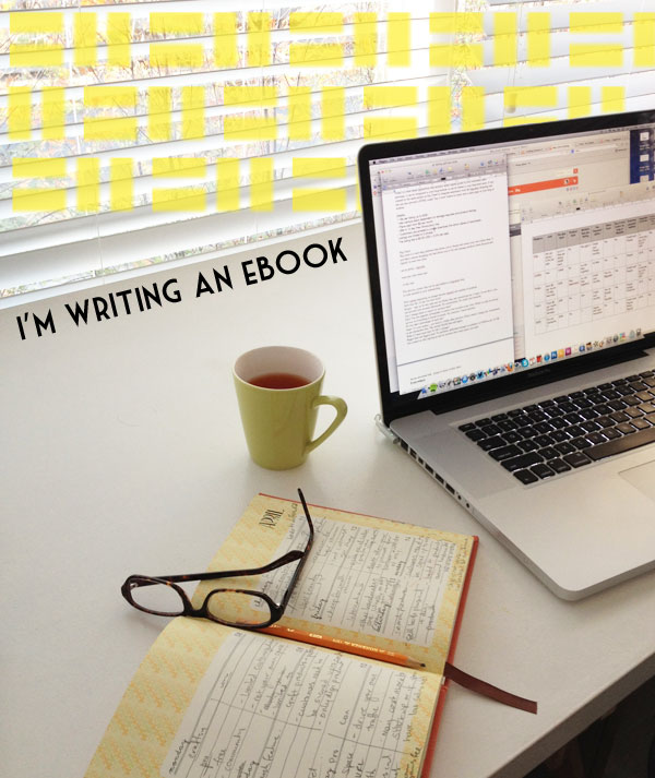 eBook ideas, working styles & marathon writing sessions