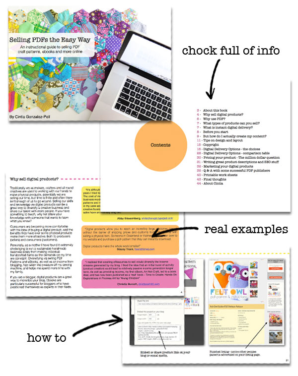 Look inside Selling PDFs eBook
