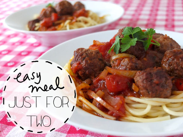 Just the Two of Us – Recipe + Giveaway !