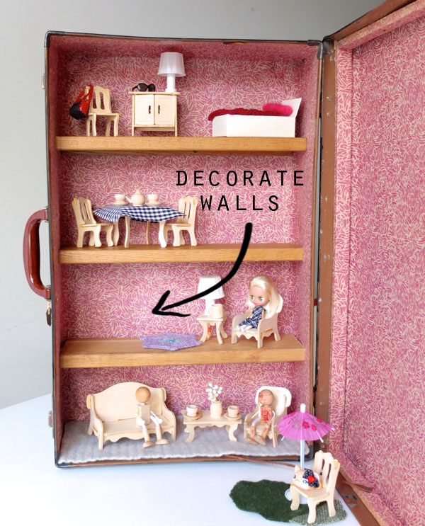 decorate dollhouse