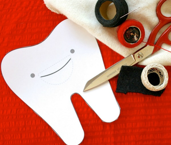 Supplies required to make a tooth