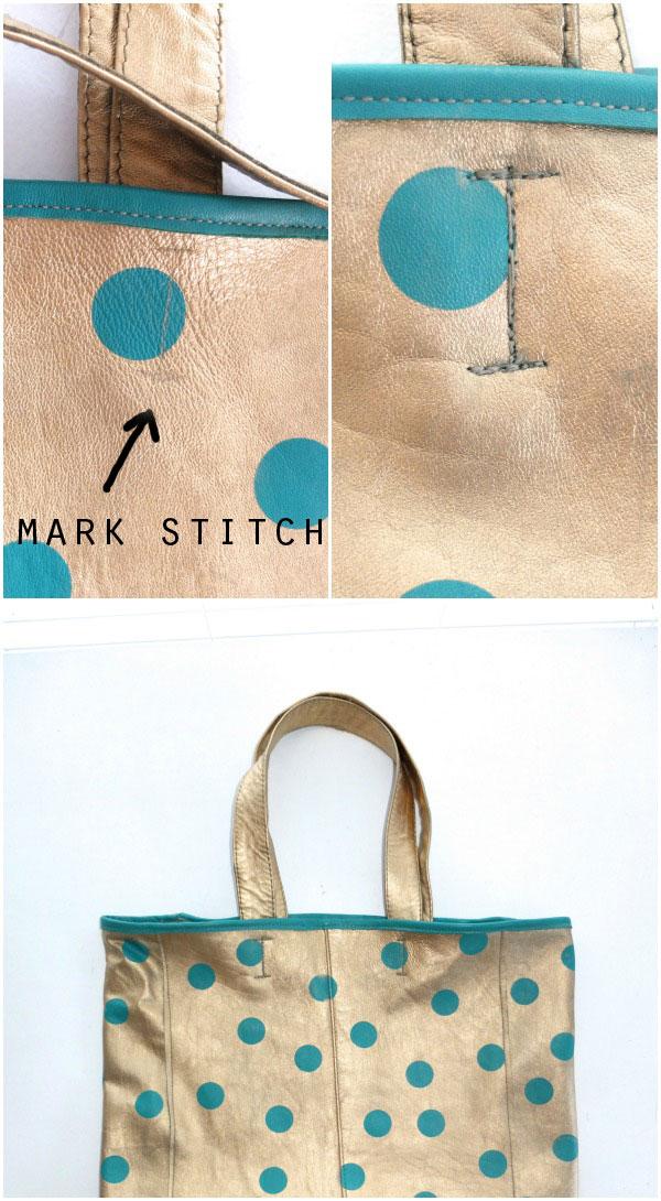 sew on straps - tote bag