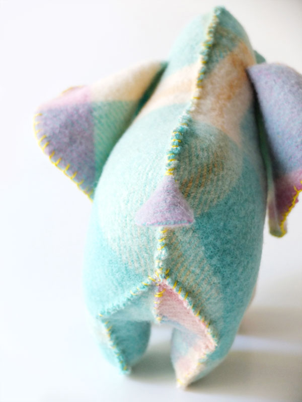 toy elephant butt