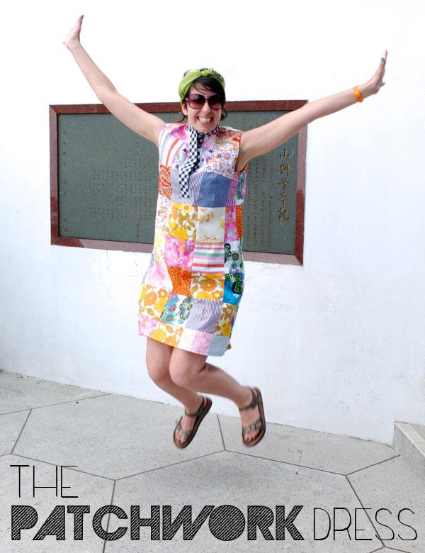 The Patchwork dress My Poppet