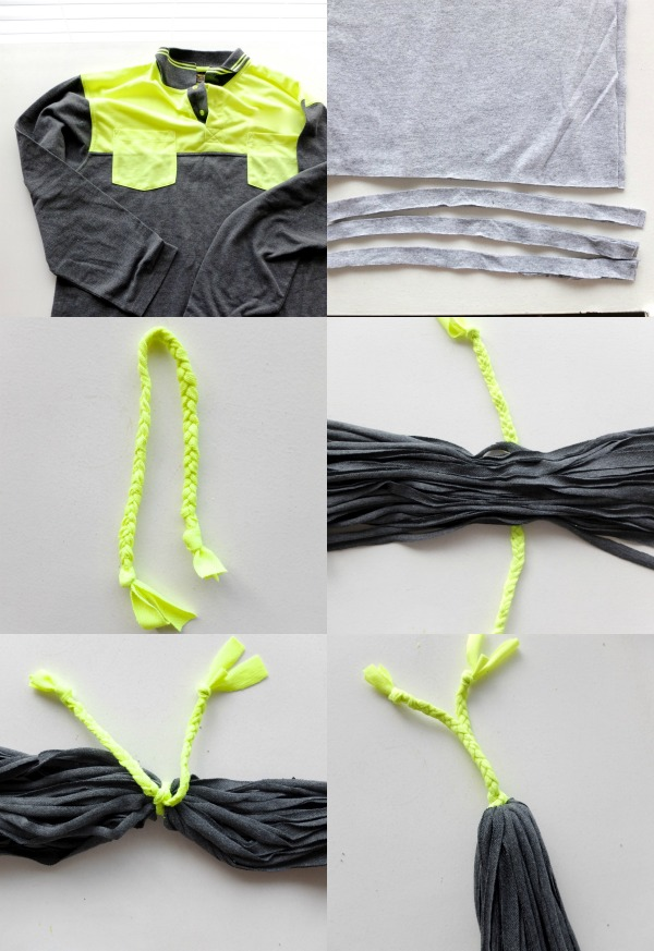 DIY tassels how to make