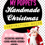 Handmade craft and food for christmas mini magazine