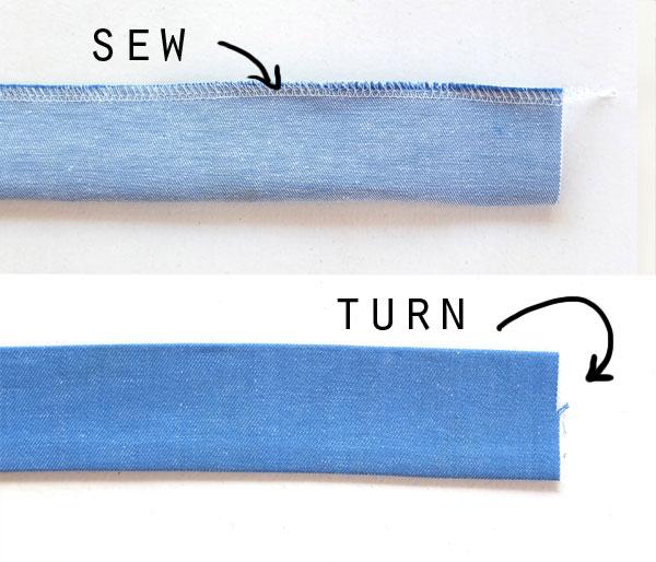 making bag handles