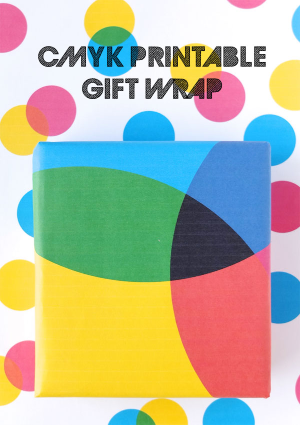 Cymk Printable Gift Wrap Wrapping Paper
