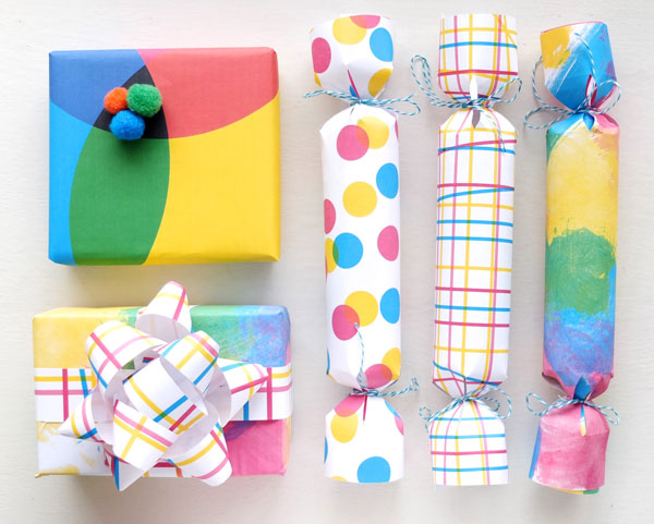 http://mypoppet.com.au/2013/12/printable-gift-wrapping-paper-fun-gift-wrapping-ideas.html