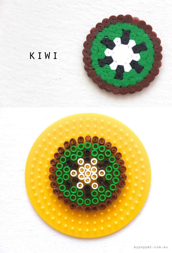 kiwi hama bead pattern crossstitch circular design mypoppet.com.au
