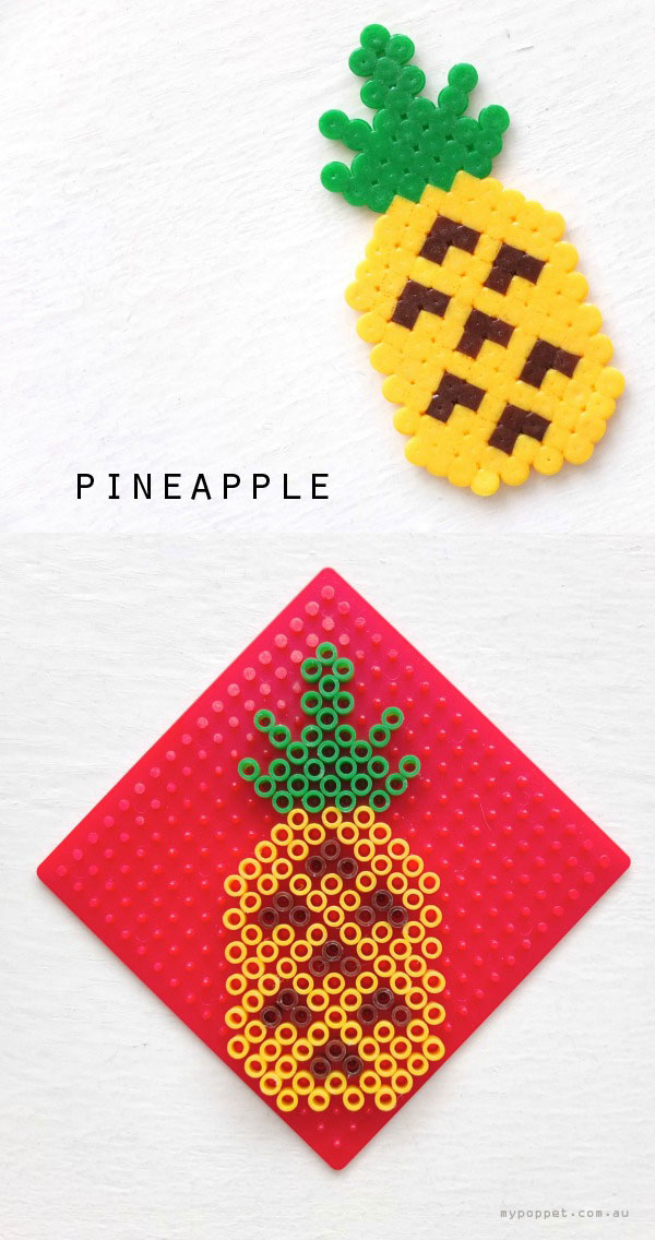 DIY Gift Idea: Fun Fruit Keyrings | My Poppet Makes