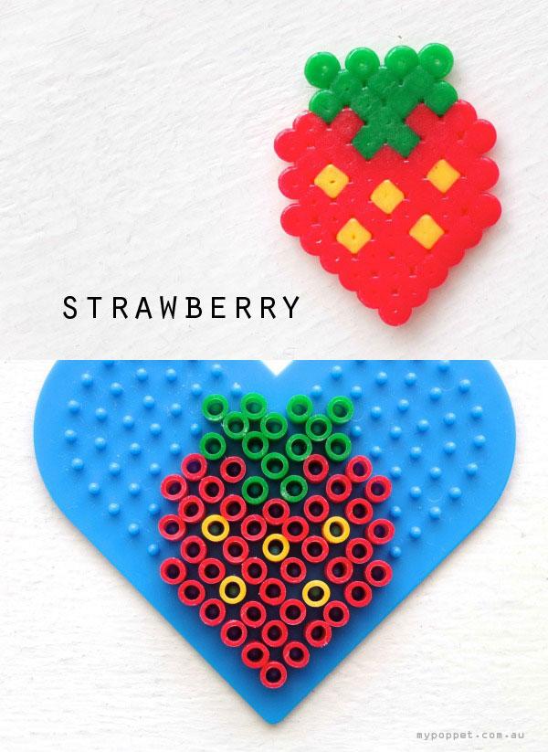 pineapple hama bead pattern crossstitch design mypoppet.com.au