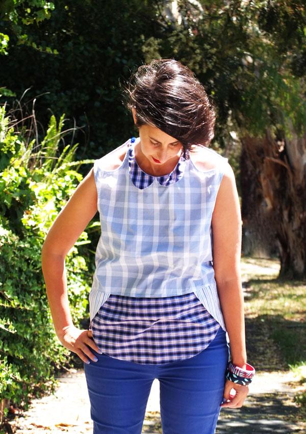 mypoppet.com.au - pattern review blouse megan nielsen pattern