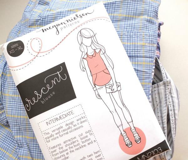 Megan Nielsen crescent blouse pattern review by mypoppet.com.au