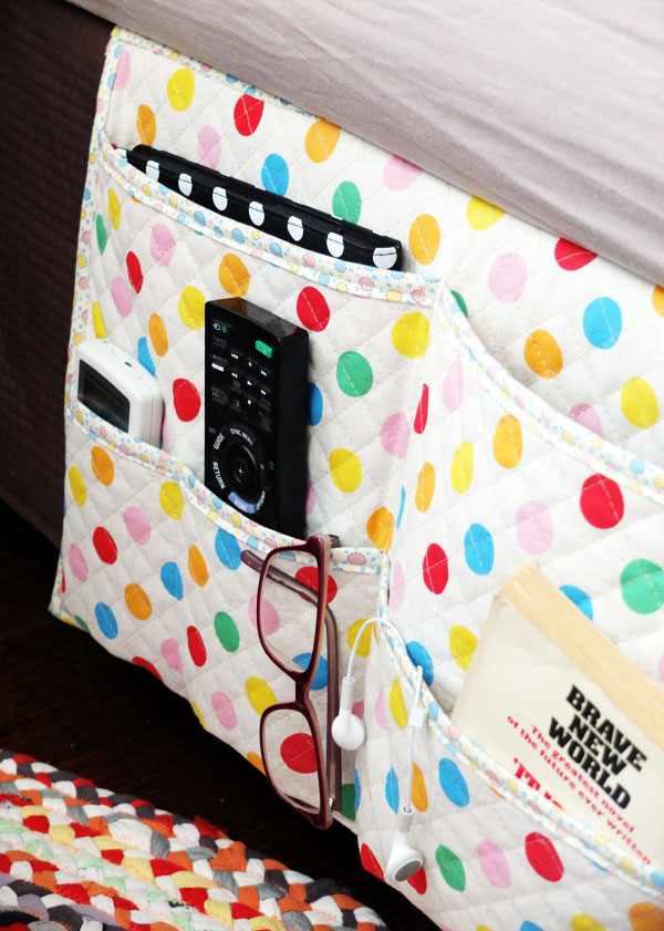 How To Bedside Gadget Caddy And Stuff Organiser My Poppet Makes