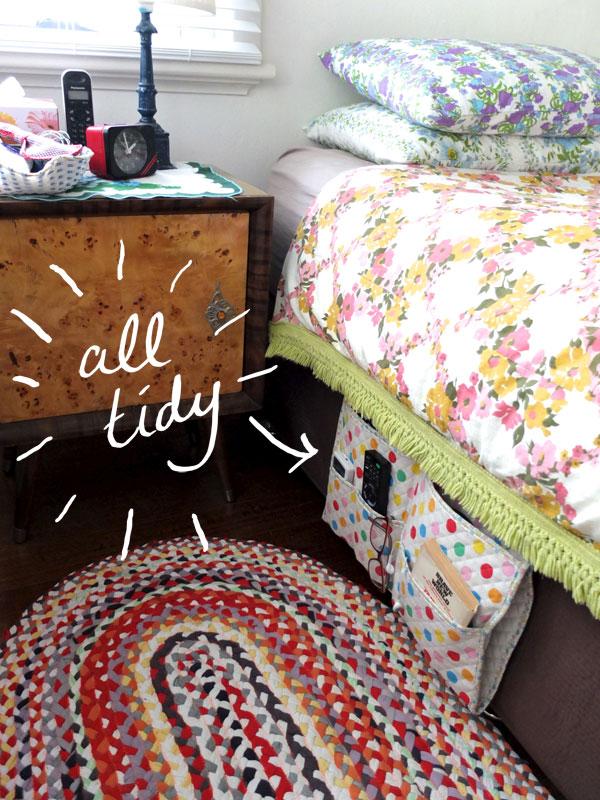 Bedside caddy after