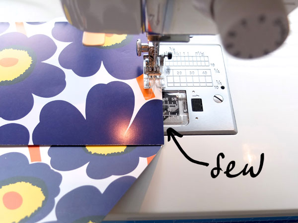 sew an envelope
