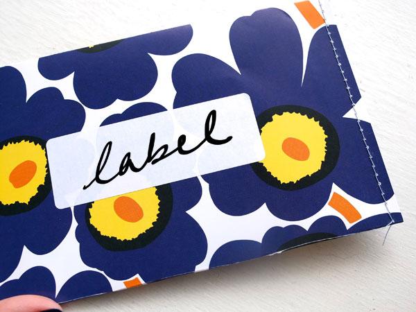 Marimekko envelope DIY