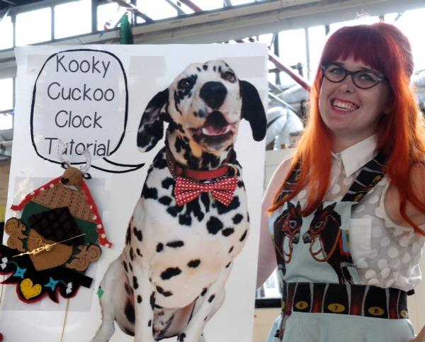 felt cuckoo clock freckles and ginger