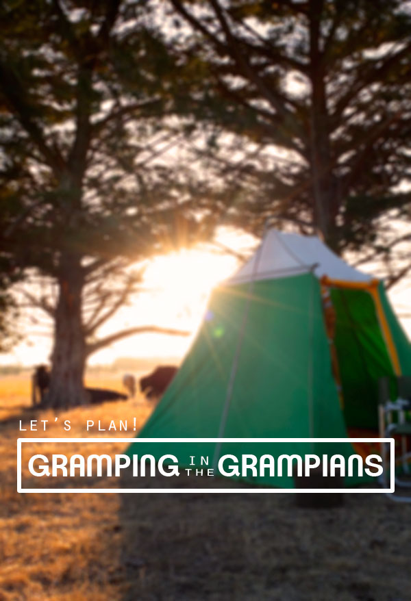 Gramping in the Grampians – The Gramping Association Giveaway!