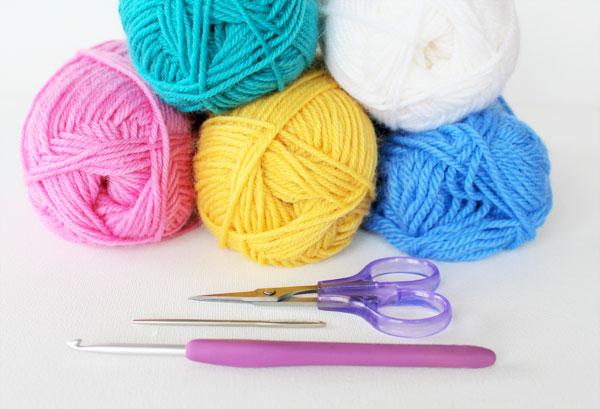 yarn crochet supplies