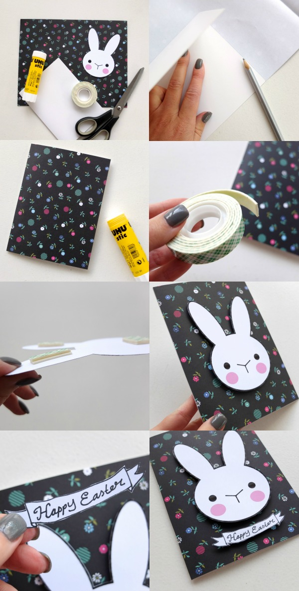 easter card diy