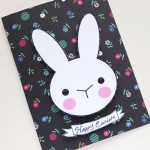 Happy Bunny Easter Card