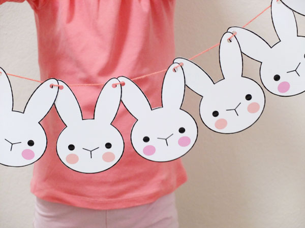 bunny banner paper-crafts