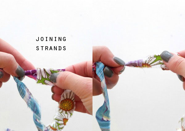 fabric twine joining instructions