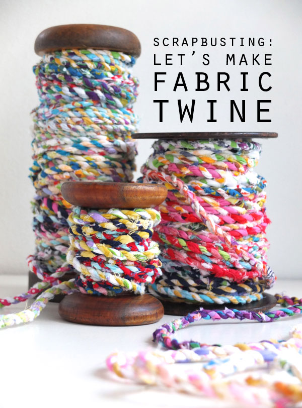 Handmade Fabric Twine Diy Included Video Tutorial Home Design Ideas
