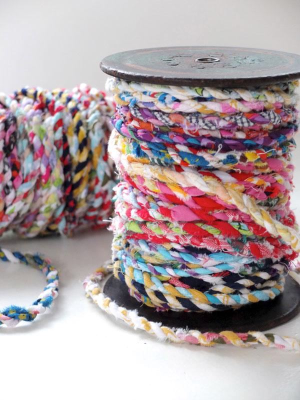 vintage rope spools