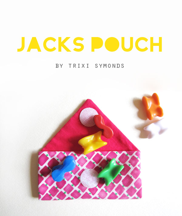 DIY jacks knucklebone pouch tutorial