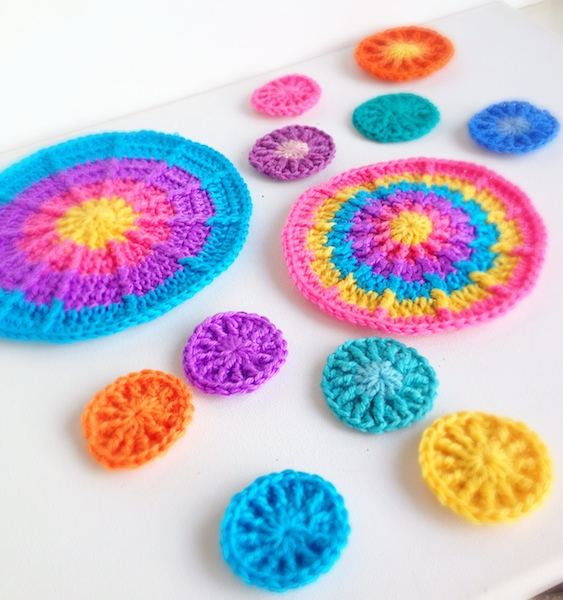Crocheting Rows In A Circle : crochet circles