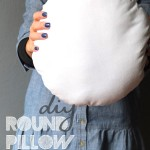 Diy Round pillow insert