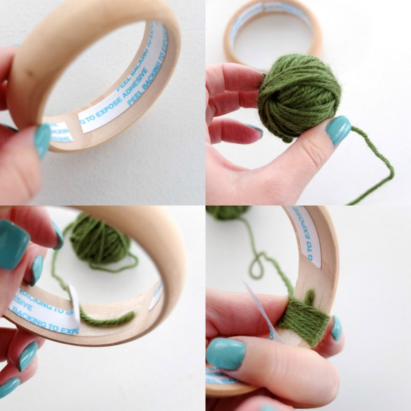 Fun Accessory DIYWoven Yarn BanglesMy Poppet Makes