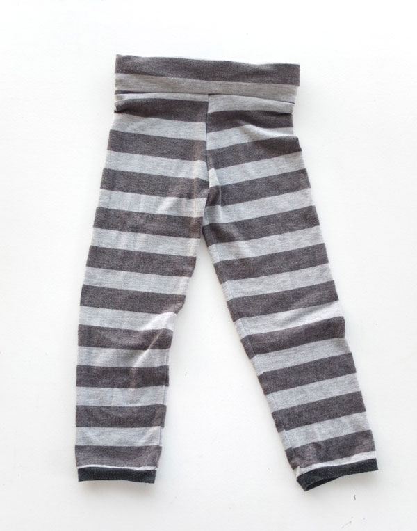 How to make Kids Leggings from an Old Top mypoppet.com.au