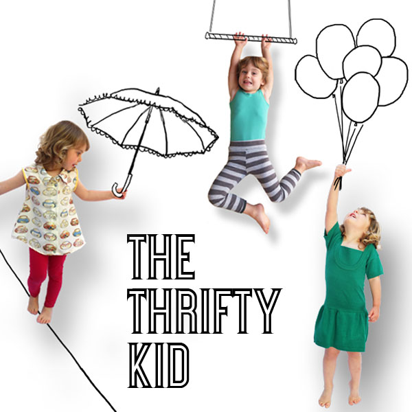 blog series introduction. The thrifty Kid. refashion adult clothing into a new wardrobe for your kid