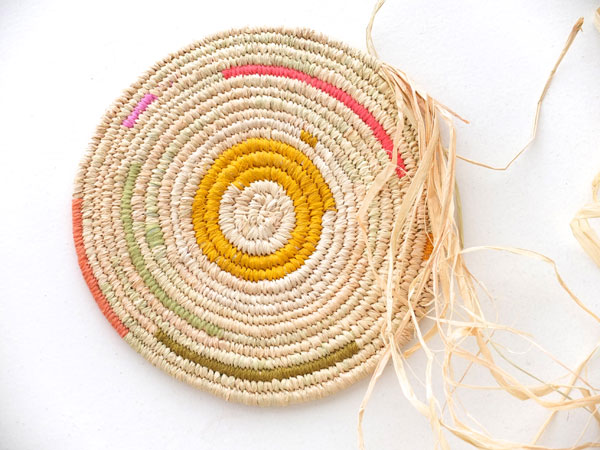 Basket Weaving With Raffia : Craft this time it s personal my poppet makes