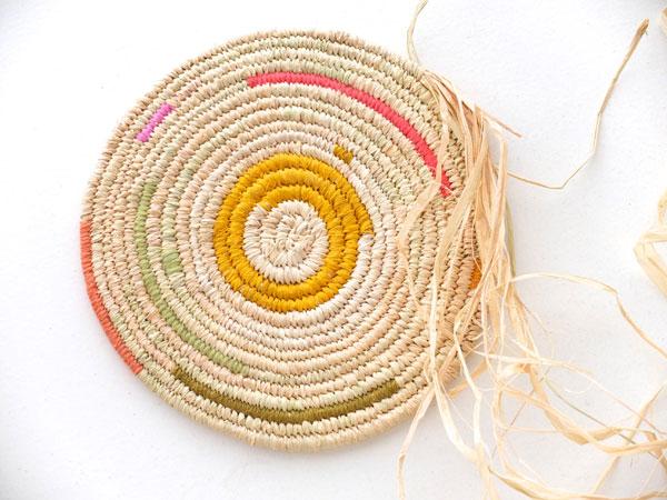 Coil weaving