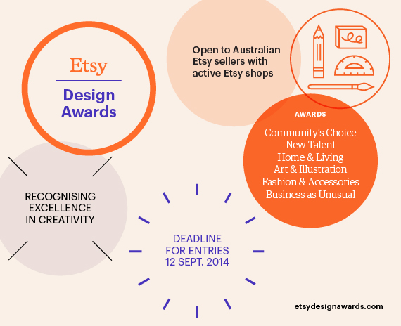 Etsy design awards Australia