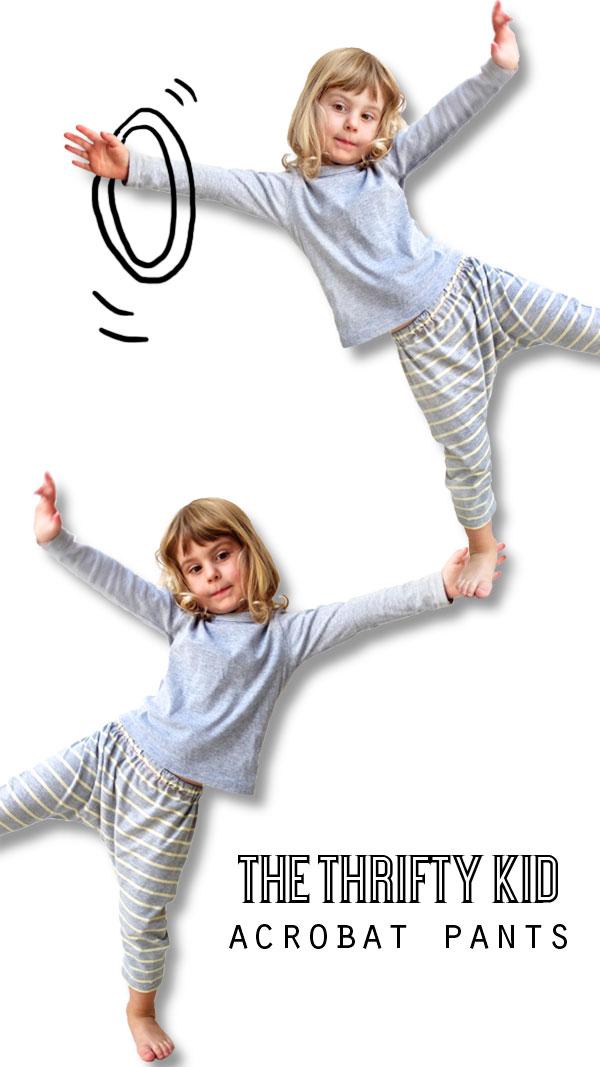 The Thrifty Kid - Acrobat pants