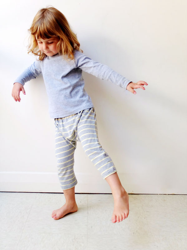 make Harem pants for kids