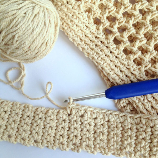 DIY Crochet Market Bag Pattern | My Poppet Makes