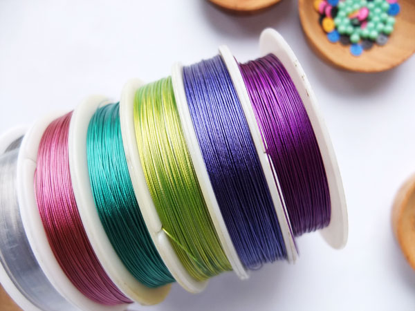 rainbow tiger tail wire