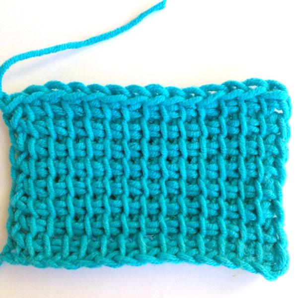 tunisian crochet lesson