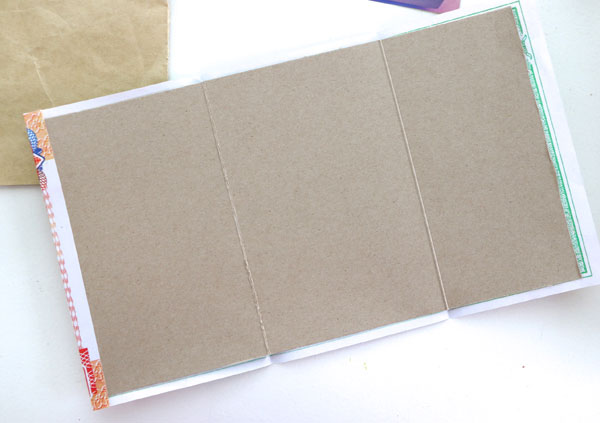 Make a notebook from scrap paper my poppet makes cereal box cardboard notebook cover ccuart Images