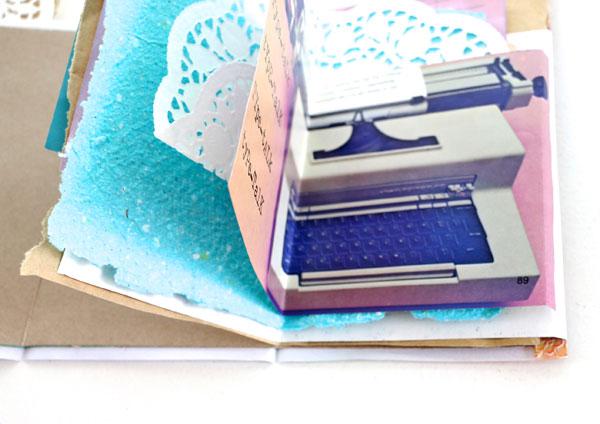 scrap paper notebook diy